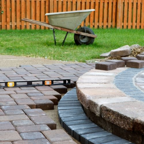 cape cod landscape construction patios and stone walkways